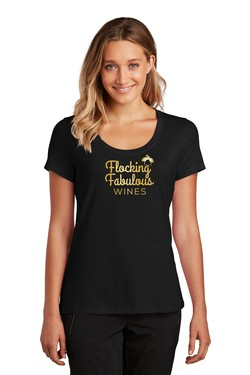 FLOCKING FABULOUS WOMENS TEE