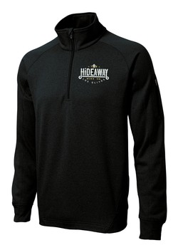 HIDEAWAY WINE CO HALF-ZIP PULLOVER